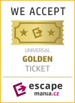 Banner Golden ticket escapemania