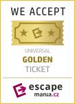 Banner Golden ticket escapemania