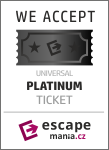 Banner Platinum ticket escapemania