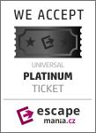 Banner Platinum ticket escapemania